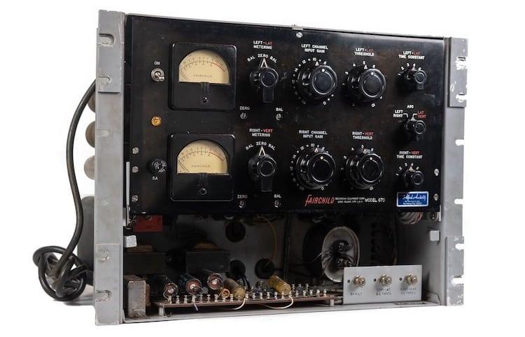 Compresseur analogique Delta-Mu Fairchild 670