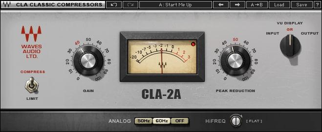 Compresseur optique Waves CLA-2A (type LA-2A)