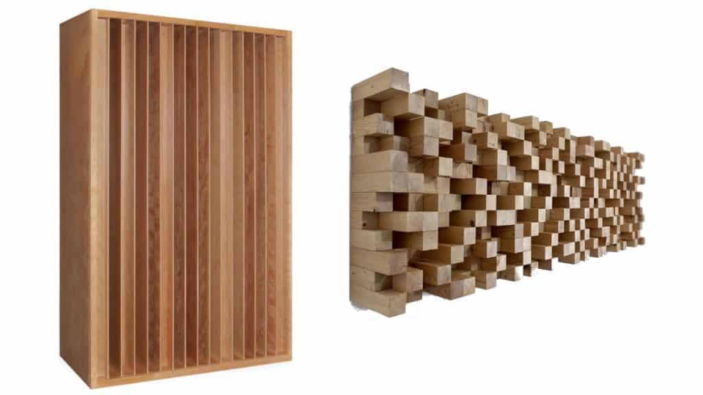 Les deux types de diffuseurs acoustique : QRD et Skyline