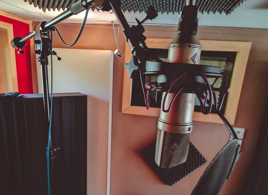 5 micros voix en home studio