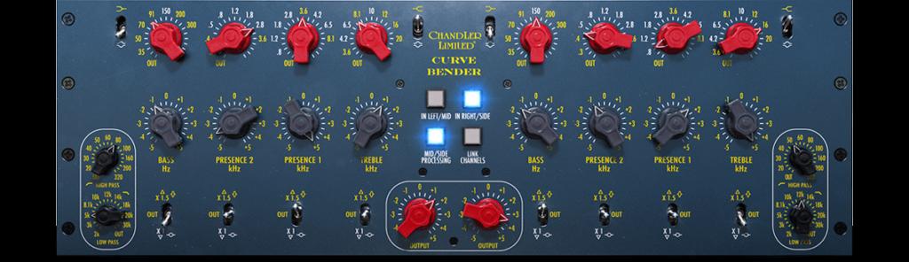 Chandler Limited Curve Bender, TG12345, l'émulation d'une des plus incroyables EQ de mastering du marché