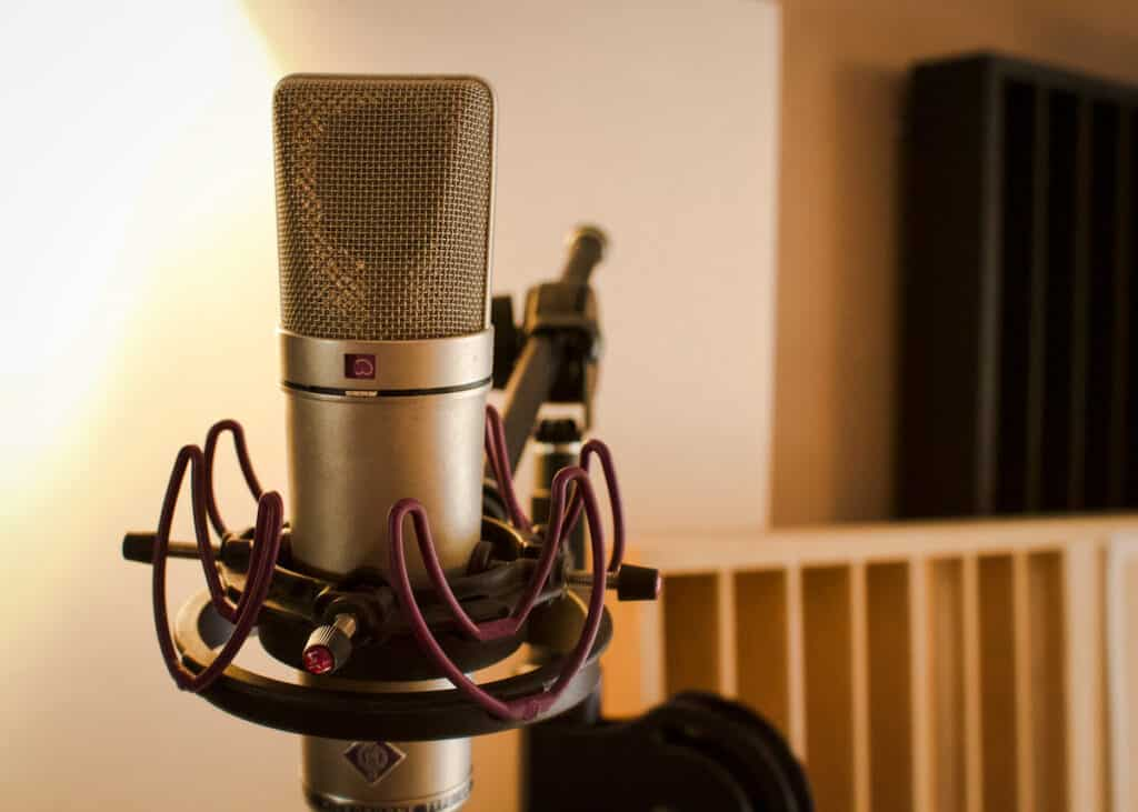 Voice recording with a Neumann U87 Vintage at The Office / The Artist Paris