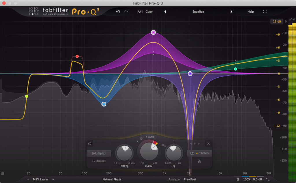 FabFilter Pro-Q3, un plugin d'EQ dynamique incontournable