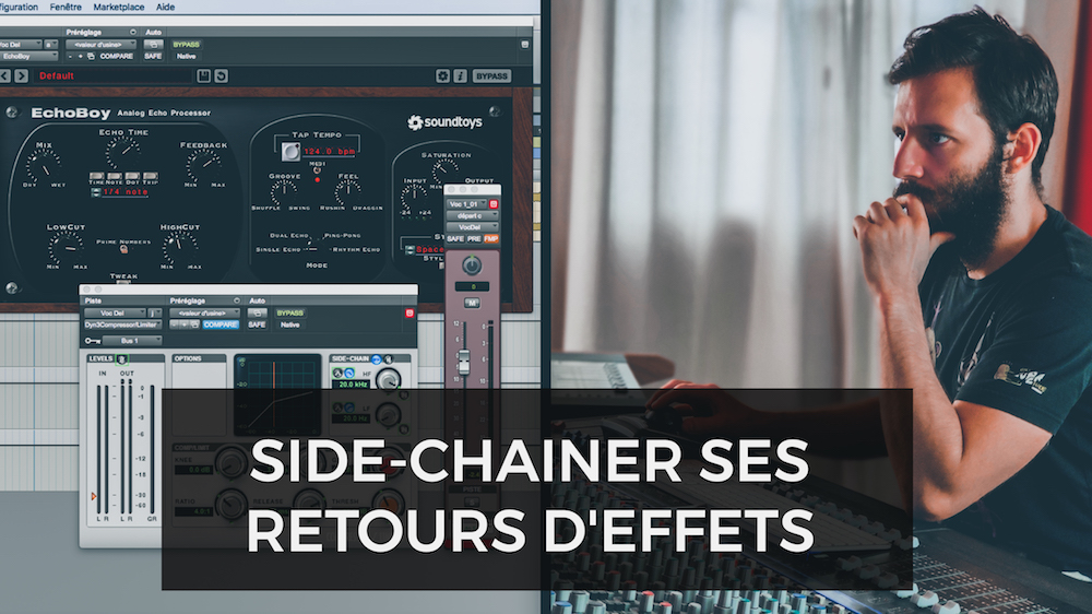 Video youtube side chain return effects mixing voice compressor