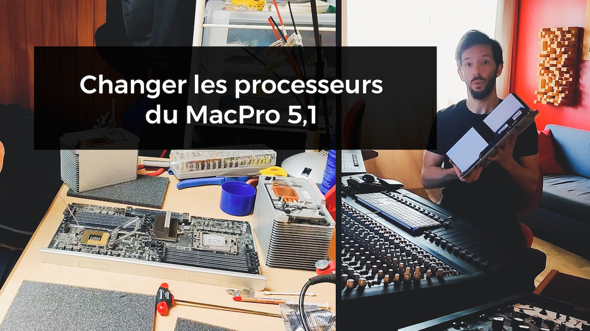 change processor apple macpro 5,1 2010 intel xeon X5690