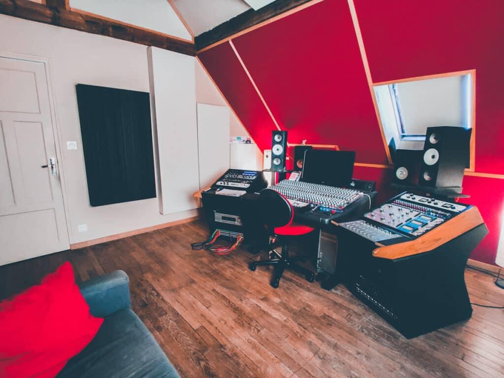 cabine de mixage mastering studio the office the artist saint-michel-sur-orge paris
